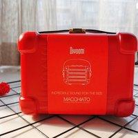 玛奇朵迷你无线蓝牙音箱开箱展示(手提带|颜色|主机|金属网)