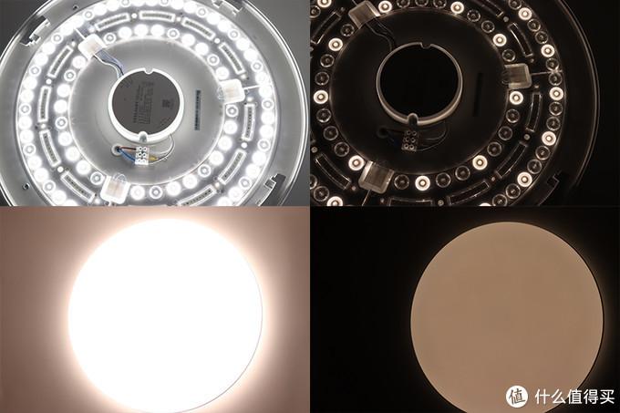 """""""高灯下亮""""更划算:Yeelight灵犀LED吸顶灯Pro+标准版+Mini套装体验"""