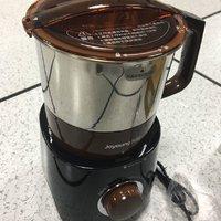 九阳不锈钢磨粉机外观展示(杯体|刀头|刻度线|齿轮|底座)