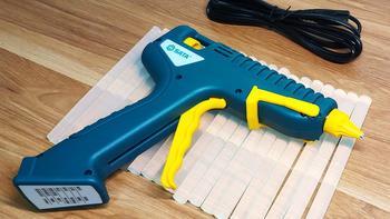 世达热熔胶枪使用体验(散热|安全|胶枪|开关|充电)