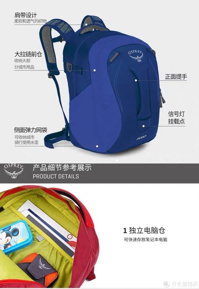 出发点应该是在登山包的基础上加上小学书包的要求