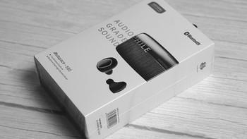阿思翠S80耳机外观展示(充电盒|充电线|耳帽)