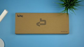 IKBC键盘开箱设计(出线口|脚撑|接口|键帽)