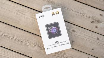 FiiO M5播放开箱说明(数据线|尺寸|屏幕|机身|接口)