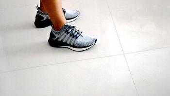 米家运动鞋3上脚体验(支撑 缓震)