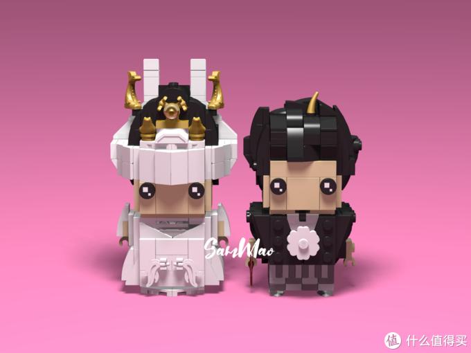 乐高积木方头仔MOC:婚嫁系列-日式婚礼