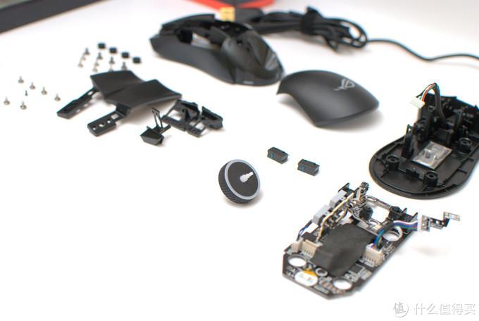 我的新桌面套系即将启程——ROG GLADIUS II标准版游戏鼠标