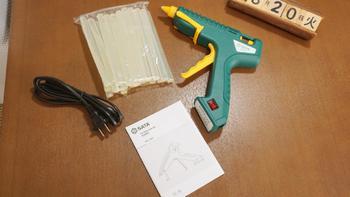 世达热熔胶枪包装展示(材质|电源线|尺寸|开关|插口)