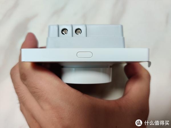 顶部,这里的小按钮是用来启动蓝牙配对的。