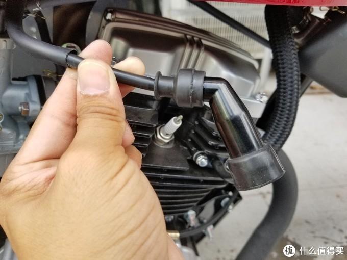 摩托车不能启动的简单处理办法,修不好也不要被坑