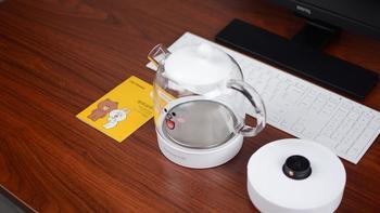 阳萌新养生壶包装细节(底座|说明书|壶身|做工|材质)