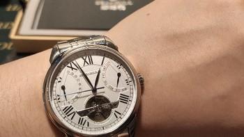 海鸥816.521手表使用总结(机芯|精度|表盘)