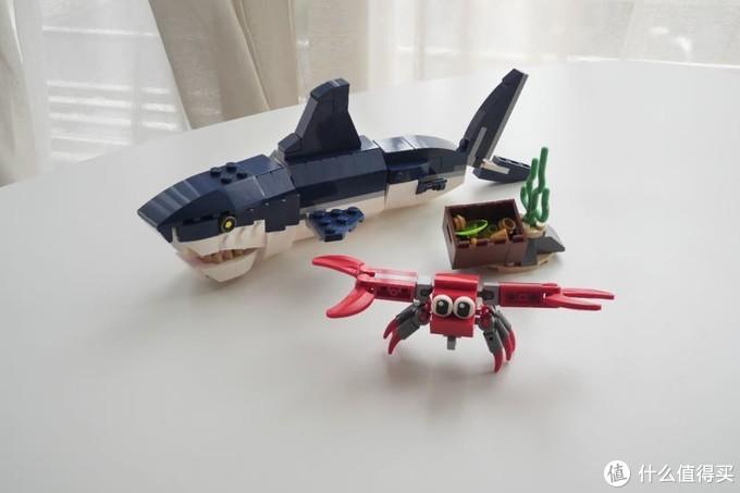 乐高31088深海生物评测