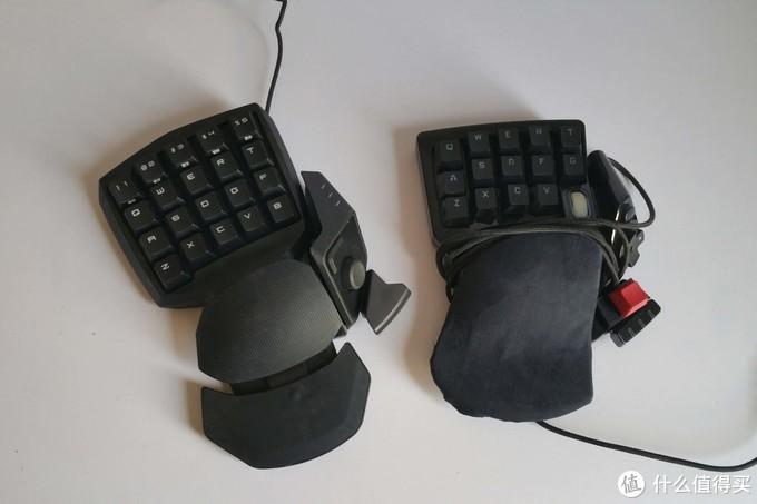 雷蛇 Razer 金丝魔蛛 Orbweaver 左手机械键盘 晒物