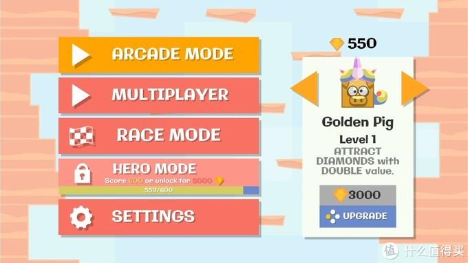 左边可以选择游戏模式,右边可以选择角色