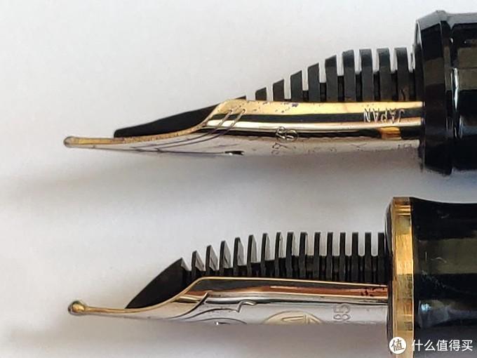 粗尖控的野望,百利金M400 M与EF尖钢笔对比