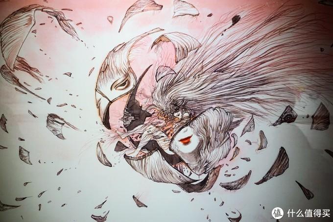 """永远的最终幻想与吸血鬼猎人,天野喜孝""""白昼的幻想""""艺术展"""