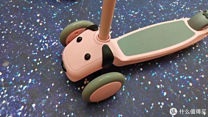 用它,我教会了孩子如何踩刹车~小寻萌宠狗狗滑板车使用分享