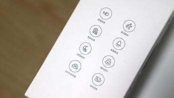 中国移动V2智能摄像头云台版外观细节(卡扣|指示灯|供电口|扬声器|散热孔)