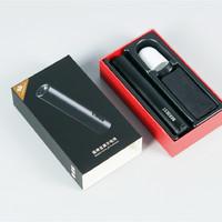 小米有品极蜂金属手电筒外观展示(充电线|柔光罩|筒身|接口|按键)