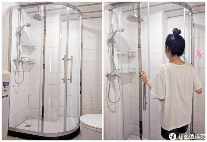 干湿分离、提升幸福感神器!—希箭HOROW弧扇形定制淋浴房改善狭小卫浴体验~