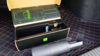 小米有品清蜓车载吸尘器外观展示(按钮|集尘盒|吸头)