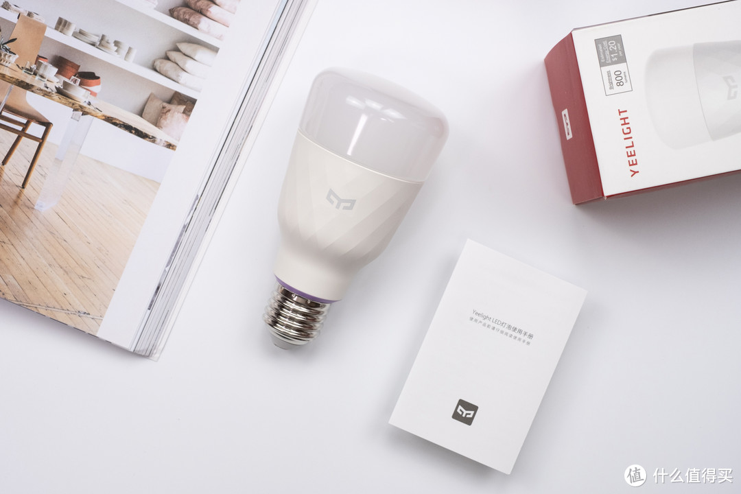 利用小东西,营造不一样的色彩氛围感:Yeelight LED灯泡(彩光版)