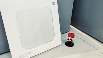 小米体重秤2代外观展示(屏幕|传感器)