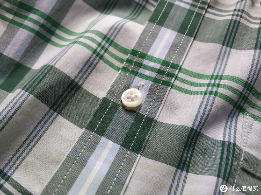 图书馆猿のINTERIGHT系列晒单 06:云整理格纹短袖衬衫