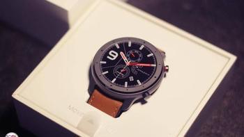 华米Amazfit GTR智能手表包装细节(材质|尺寸|表盘|表带|屏幕)