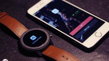 华米Amazfit GTR智能手表操作体验(开机 触控 点触 菜单 心率检测)