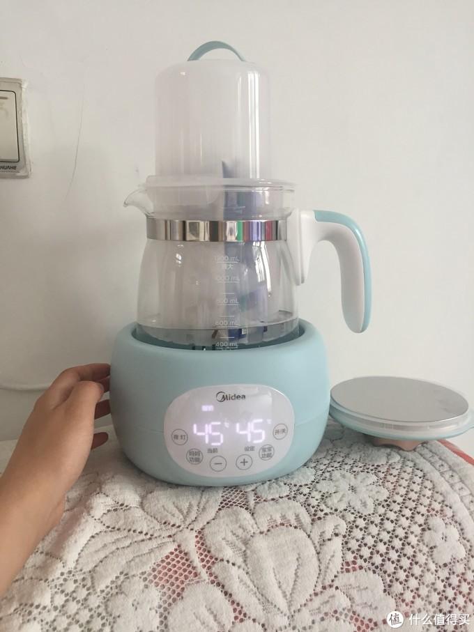 准妈妈入手的第一件育宝神器——美的皇冠Plus调奶器测评