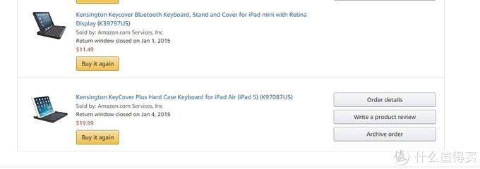 实验猿家两款kensington蓝牙平板键盘伪开箱