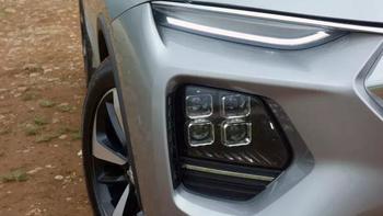 海马8S SUV外观展示(前脸|大灯|尾灯|后排)