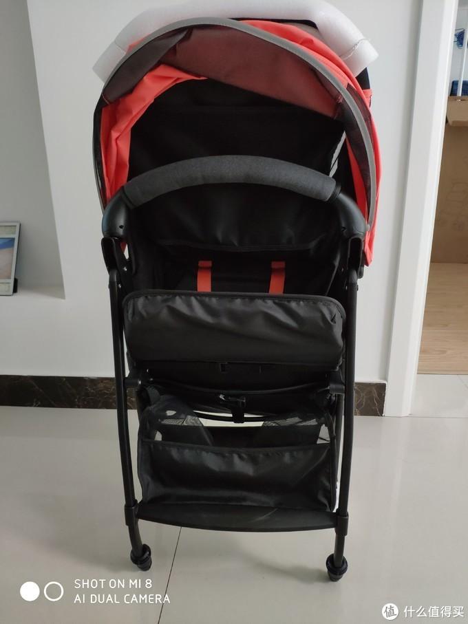 媳妇再也不怕拎不动婴儿车了——QBORN轻便折叠婴儿推车开箱+两月体验