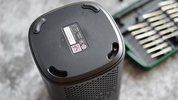 小爱音箱万能遥控版使用拆解(橡胶垫|螺丝|底座|电源口|面板)
