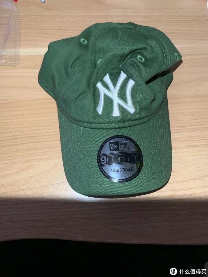 张大妈里每月一推的era绿帽开箱