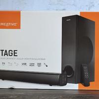 创新STAGE回音壁外观细节(键区|遥控器|电池|材质)