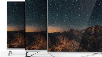 乐视超级电视超5 X55开箱晒单(挂架|底座|边框|指示灯|扬声器)