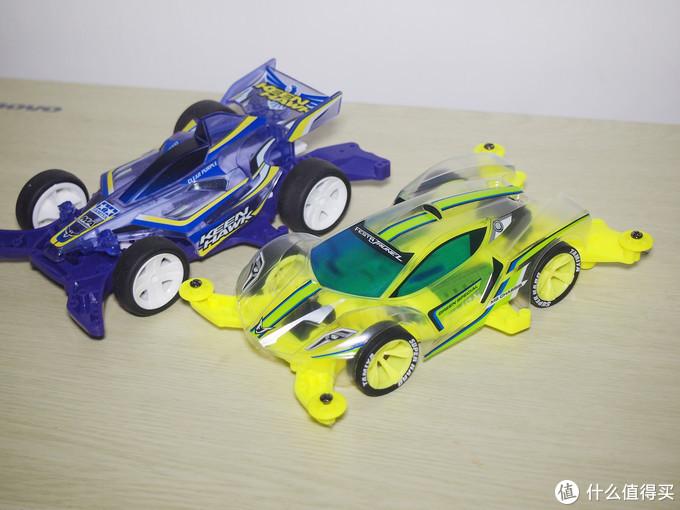 又失误:我爱荧光黄,玻璃蛙的TAMIYA田宫⭐⭐迷你四驱车