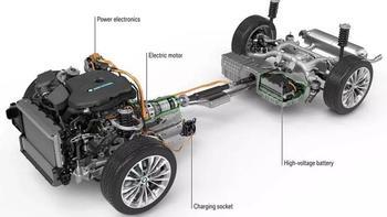 宝马5系PHEV汽车整车底盘模式(电机|功率|续航|底盘|系统)