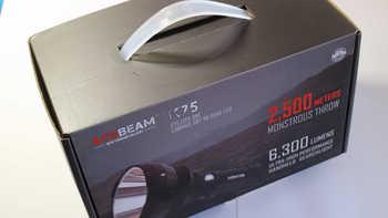 ACEBEAM  K75 户外照明包装展示(说明书|材质|按钮|接口|开关)
