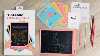 绘特美T2儿童液晶画板外观设计(颜色|尺寸|材质|清除键)