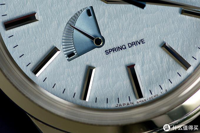 信州的Spring Drive——SBGA407冰蓝雪花