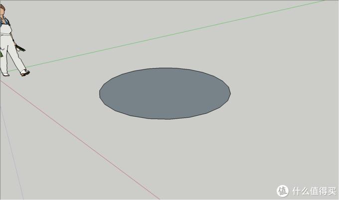平面任意画圆或指定半径的圆
