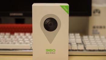 360智能摄像机外观展示(电源线|底座|喇叭|麦克风)
