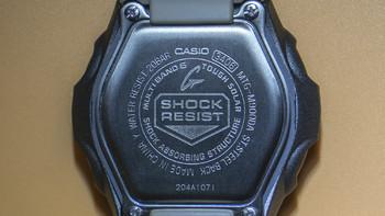卡西欧 MTGM900DA-8CR手表外观展示(后壳|表带)