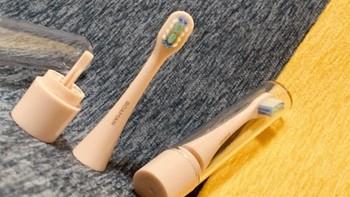 罗曼Smart1电动牙刷产品细节(刷头|刷柄|指示灯|底座)