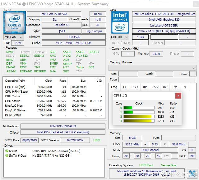 QS版i5-1035G1截图
