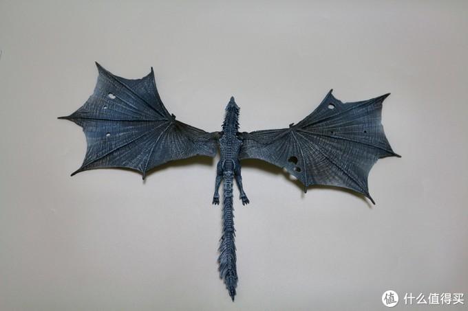 龙的本体比我想象得要大一下,主要是翅膀,完全展开后有40多厘米